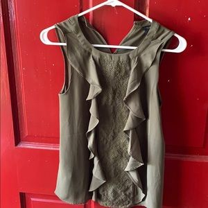 Brand new Ann Taylor green tank blouse
